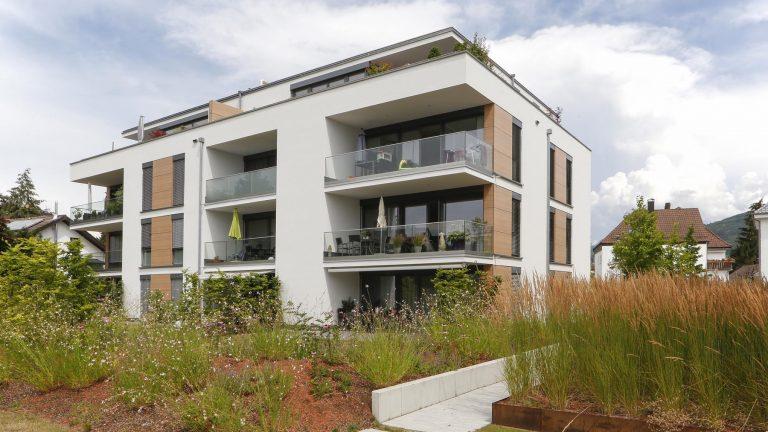 """Neubau Mehrfamilienhäuser """"Trautmanns Garten"""" Bühl"""